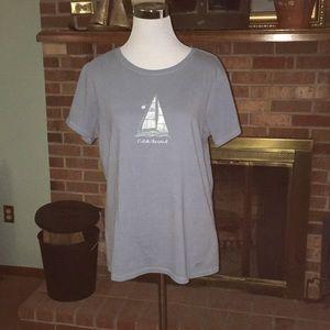 Life Is Good T-shirt shirt size Large sailboat